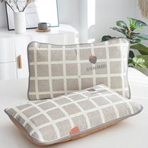 夏季冰丝凉席枕套+日式立式落地电风扇+新鲜水蜜桃5斤装