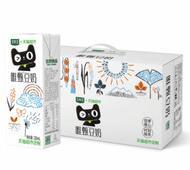 豆本豆唯甄豆奶72盒+森马夏季印花T恤+一次性刮胡刀礼盒装